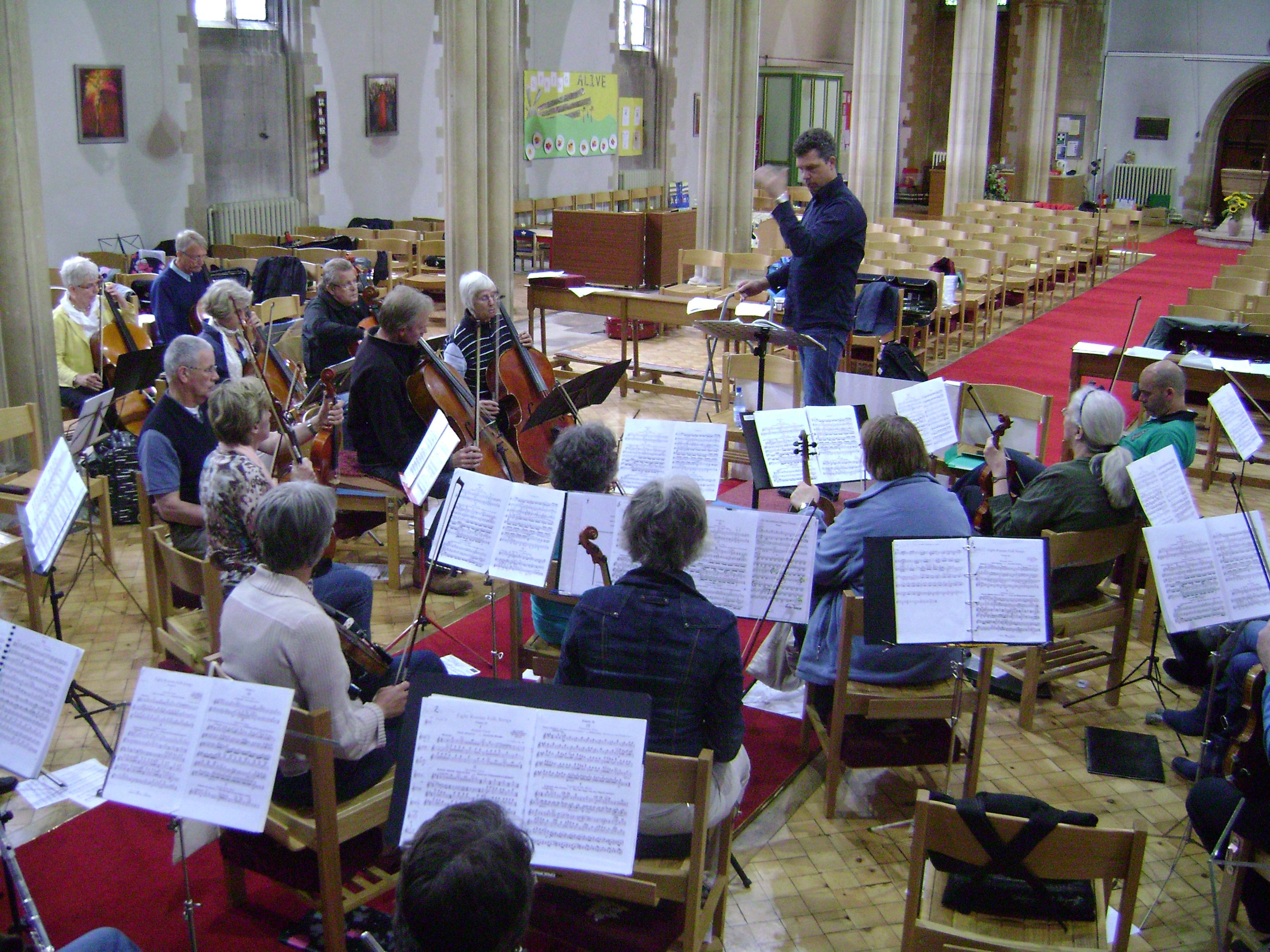 Concertreis Engeland 2011